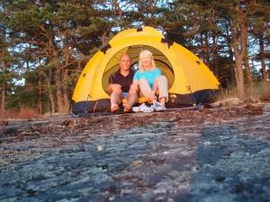 det gula tältet