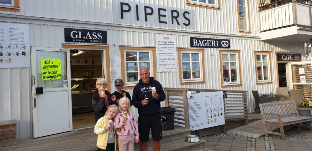 Pipers glass. Ett måste